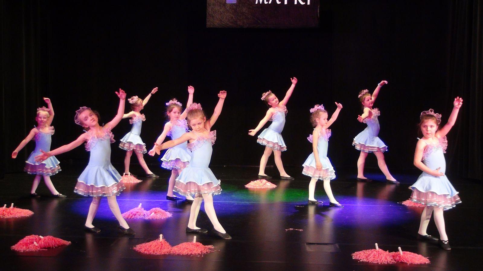 Na zdjęciu Dziecięcy Zespół Taneczny Mikroklimat